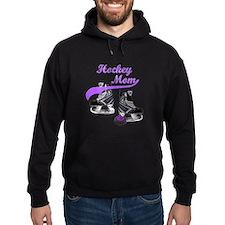 Hockey Mom - Purple Hoodie