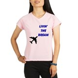 Funny Flight attendent Performance Dry T-Shirt