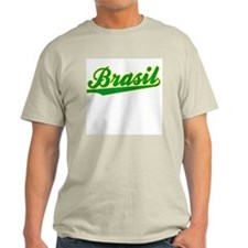 Brazil World Cup Ash Grey T-Shirt