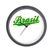 Brazil World Cup Wall Clock