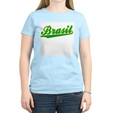 Brazil World Cup Women's Pink T-Shirt