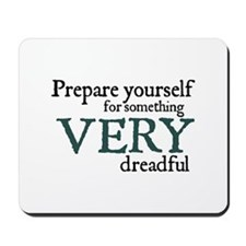 Jane Austen Very Dreadful Mousepad