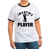 I'm a bit of a player cricket T