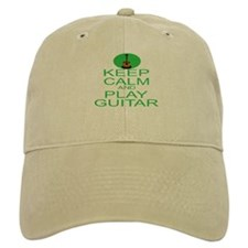 Keep Calm Play Guitar (Acoustic) Baseball Cap