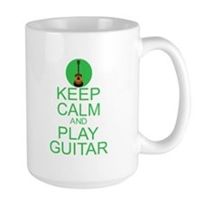 Keep Calm Play Guitar (Acoustic) Mug
