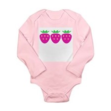 Baby Berry Long Sleeve Infant Bodysuit