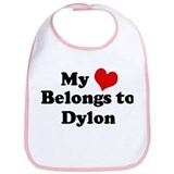 My Heart: Dylon Bib