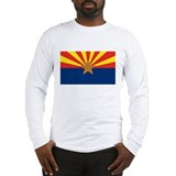 Arizona State Flag White Long-Sleeve Shirt