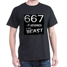 667 Neighbor of the Beast Black T-Shirt