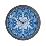 Snowflake 33 Wall Clock