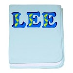 Lee baby blanket