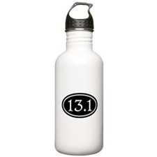 13.1 Half Marathon Oval Water Bottle