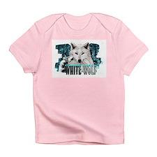 white wolf Infant T-Shirt