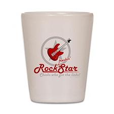 Rockstar! Shot Glass