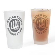 Twisted Fister Boxing Club Drinking Glass