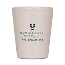 TechnoDykes Do it with Digits Shot Glass