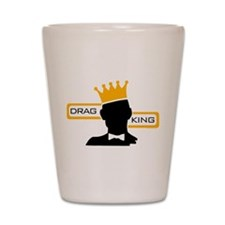 Drag King Shot Glass