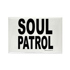 Soul Patrol Rectangle Magnet (100 pack)