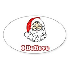 I Believe Santa 2 Decal