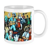 FOLK ART BLUES Small Mug