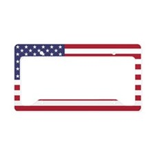 Unique America License Plate Holder