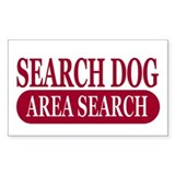 Area Search Athletics Decal