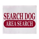 Area Search Athletics Throw Blanket