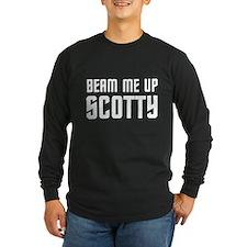 Beam me up, Scotty. T