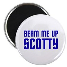 Beam me up, Scotty. Magnet