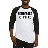 Resistance is Futile Baseball Jersey