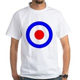 Mod Mens White T-shirts