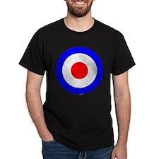 Black T - Mod Target Black T-Shirt