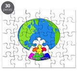 Autism around the World Puzzle