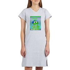 Don't Croak / Get Well Humor Women's Nightshirt