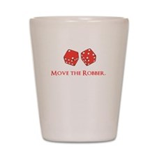 Move the Robber Shot Glass
