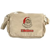 I Believe Santa 3 Messenger Bag