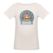 Pig Snow-Globe Holiday Tee