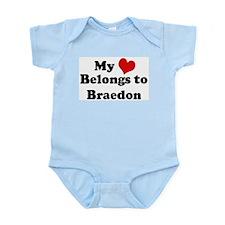 My Heart: Braedon Infant Creeper