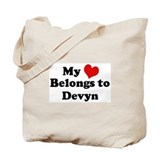 My Heart: Devyn Tote Bag