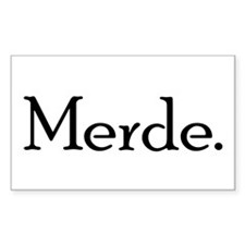 Merde Decal