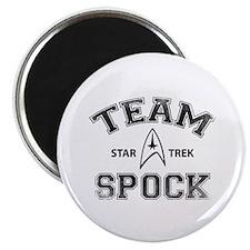 Team Spock - Star Trek Magnet
