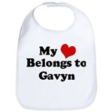 My Heart: Gavyn Bib
