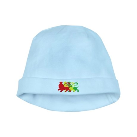 COLOR A LION baby hat
