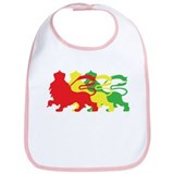 COLOR A LION Bib