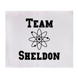 Team Sheldon Throw Blanket