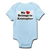 My Heart: Kristopher Infant Creeper