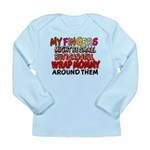 FINGERS WRAP MOMMY Long Sleeve Infant T-Shirt