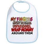 FINGERS WRAP MOMMY Bib