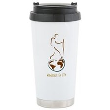 Wanderlust Ceramic Travel Mug
