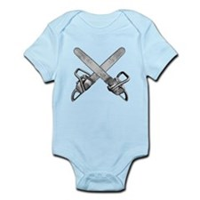 Crossed Chainsaws Infant Bodysuit